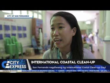 #CityExpressNews: International Coastal Cleanup - September 21, 2018