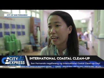 #CityExpressNews: International Coastal Cleanup - September 21, 2018