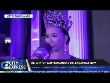 #CityExpressNews: Miss City of San Fernando & Miss Barangay 2019
