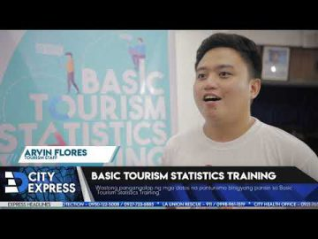 #CityExpressNews: Basic Tourism Statistics Training