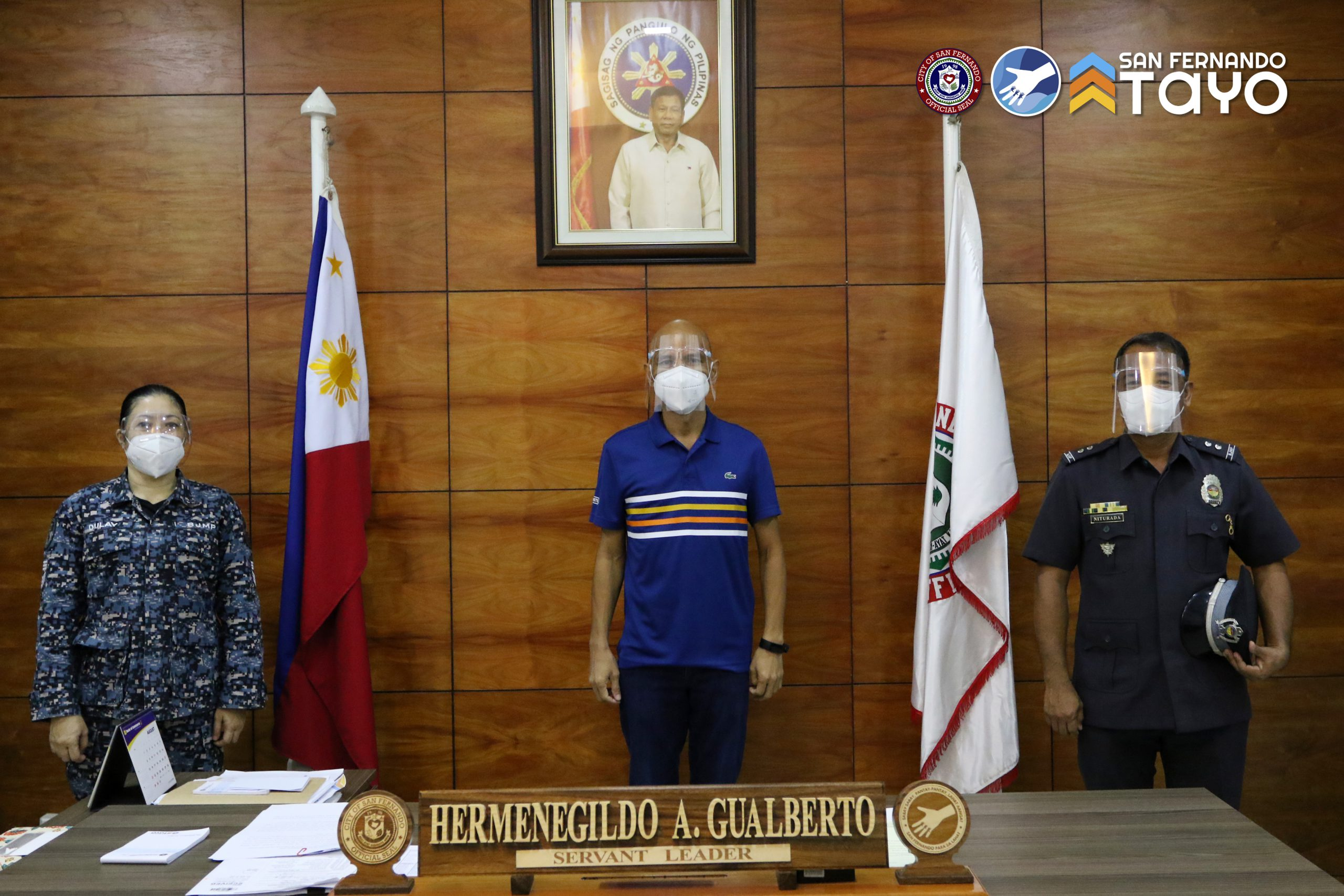 New City Jail OIC pays courtesy visit